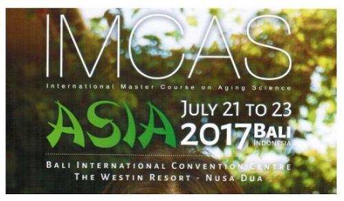 PGS.TS.BS Lê Hành tại Hội nghị IMCAS (diễn ra từ 21-23/07/2017 tại Bali, Indonesia)